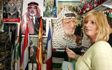 Journalist Lauren Booth In gaza