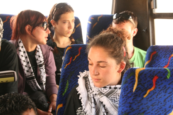 we in the way to gaza after the meeting in alaqsa universty
