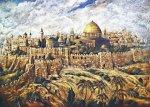 Jerusalem Mosque Golden