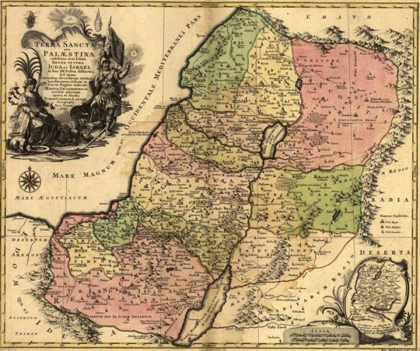 Palestine Old Map