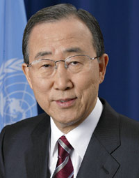 Ban Ki-Moon General Secretary of the United Nations Photo/UN.org