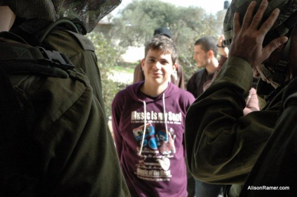 "Look that beautiful Smile, we say; ""Who does not own anything, should not fear anything"" :) Being arrested on January 23, 2011"