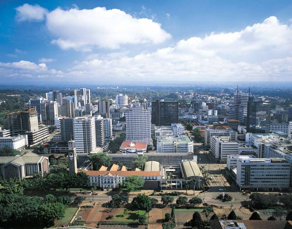 Nairobi is the capital city of Kenya and East Africa's most populous city (3.5 million).