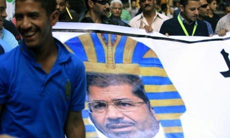Opposition rally over Morsi decrees