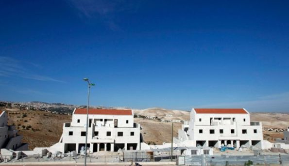 New Settlement construction of Maale Ademin Near Jerusalem