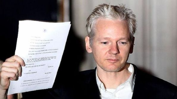 Julian Assange Arrested January 06 2012