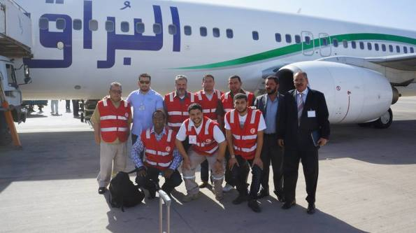Delegation of Libyan Red Crescent