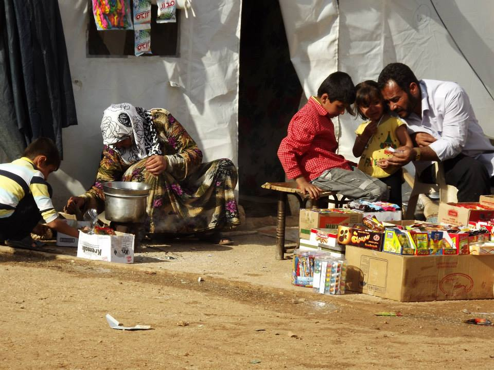 Syria Refugee Camp Border Turkey