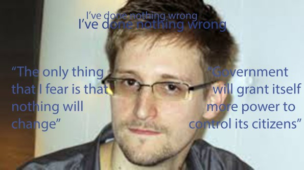 Edward Snowden Whistle blower Proud citizen
