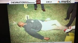 Trayvon Martin Lifeless body