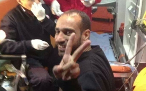 Samer Isawi was re-arrested today by Israel Occuaption Forces