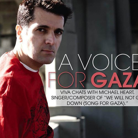 Michael Heart A Voice for Gaza (Cover of Gaza Tonight)