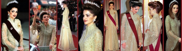 Queen Rania of Jordan Coronation