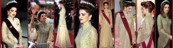 Queen Rania of Jordan Coronation