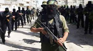 Hamas military wing resistance fighters