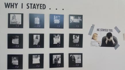Why I stayed, he stayed too. photo/Marivel Guzman