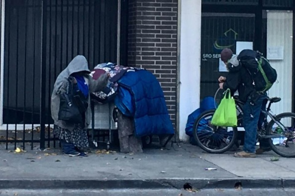 Homeless in my city